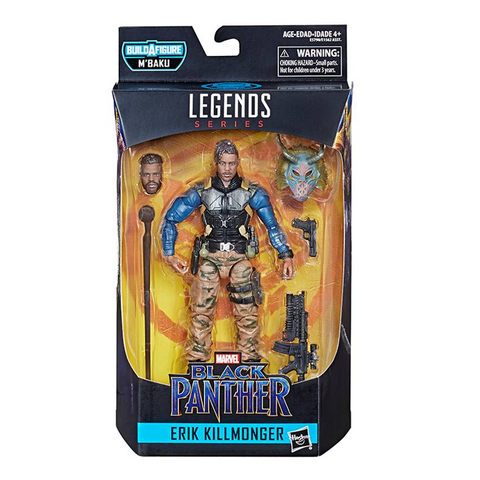 Black Panther Marvel Legends - Killmonger (Tactical)