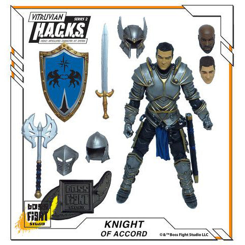 Vitruvian HACKS Fantasy Wave 1 - Knight of Accord