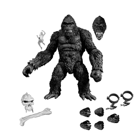 King Kong of Skull Island (B&W)
