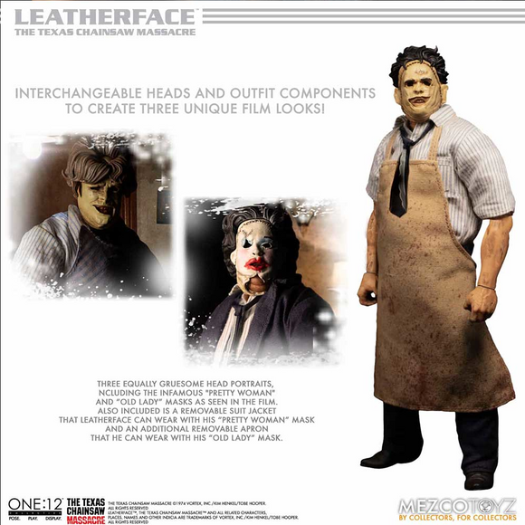 One:12 Texas Chainsaw Massacre Leatherface