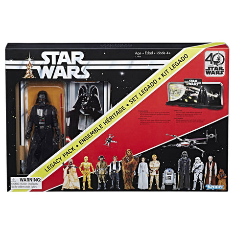 Star Wars Black Series 40th Anniverary - Darth Vader Legacy Pack
