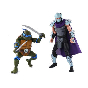 TMNT Cartoon 2-Pack - Leonardo vs Shredder