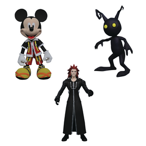 Kingdom Hearts Select - Mickey w/ Axel & Shadow