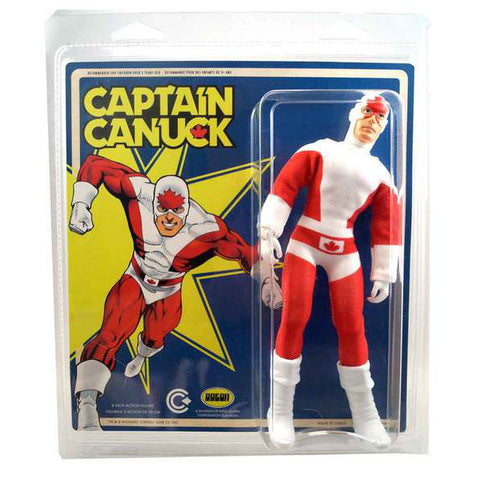 "Captain Canuck Retro ""Mego"" Action Figure"