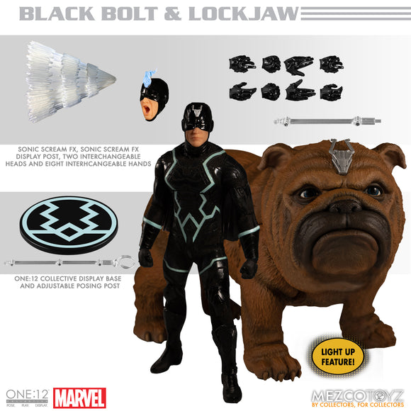 Marvel One:12 - Black Bolt & Lockjaw