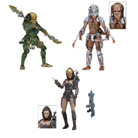 Predator Series 18 - Set of 3