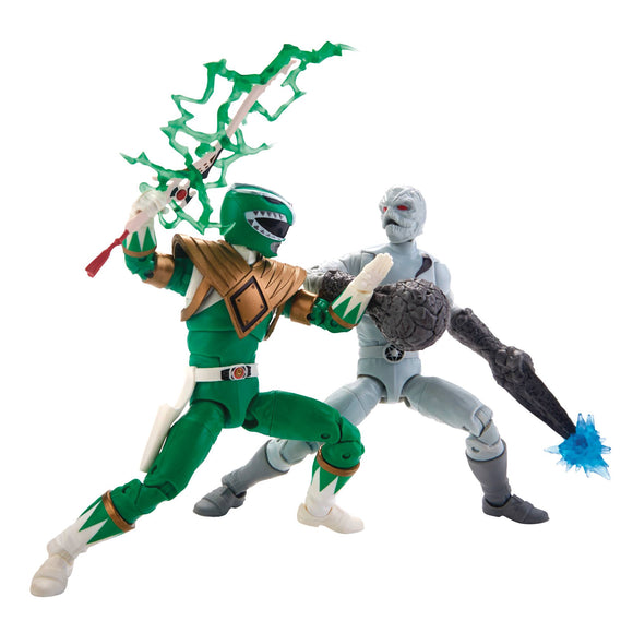 Power Rangers Lightning -  MMPR Green Ranger & Putty 2-Pack