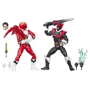 Power Rangers Lighting - Lost Galaxy & In Space Psycho Red Ranger 2-Pack