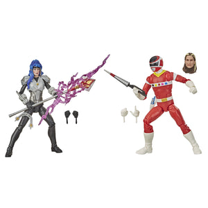 Power Rangers Lightning - Space Red Ranger & Astronema 2-Pack