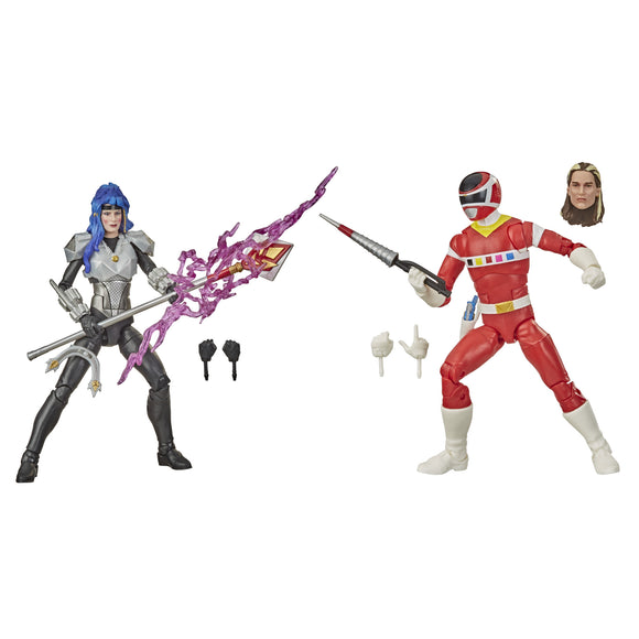 Power Rangers Lightning - Space Red Ranger & Astronema 2-Pack <br> DAMAGED BOX
