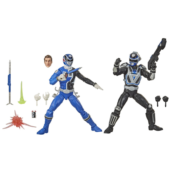 Power Rangers Lightning - SPD A/B Squad Blue Ranger 2-Pack