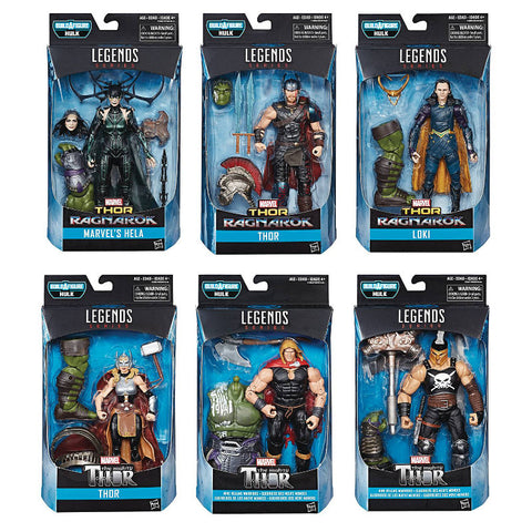 Thor Ragnarok Marvel Legends - Set of 6