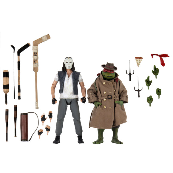 TMNT Movie - Casey Jones & Raphael 2-Pack