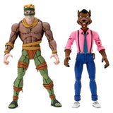 TMNT Cartoon 2-Pack - Rat King & Vernon