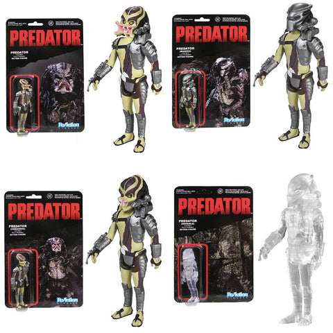 Predator ReAction - Set of 4