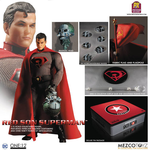 DC One:12 - Superman Red Son (PX)