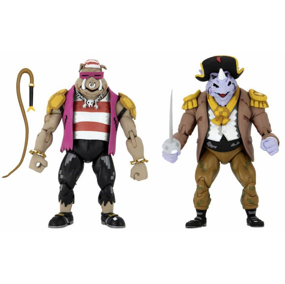 TMNT Turtles in Time - Bebop & Rocksteady 2-Pack