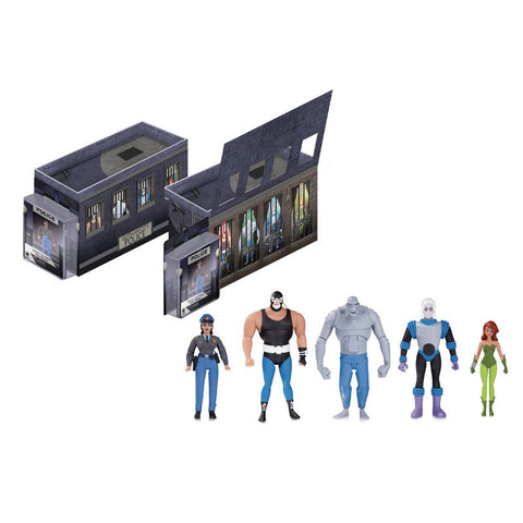 Batman Animated - GCPD Rogues Gallery 5-Pack