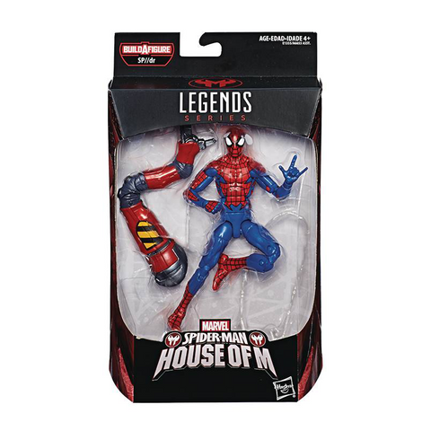 Spider-Man Marvel Legends - Spider-Man (House of M)