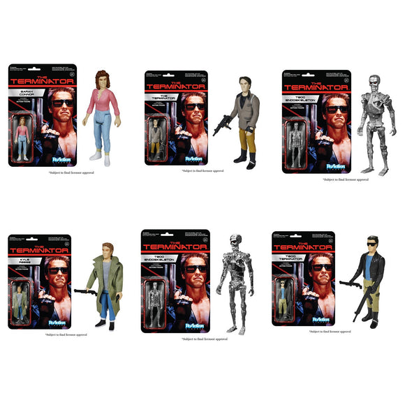 Terminator ReAction - Set of 6