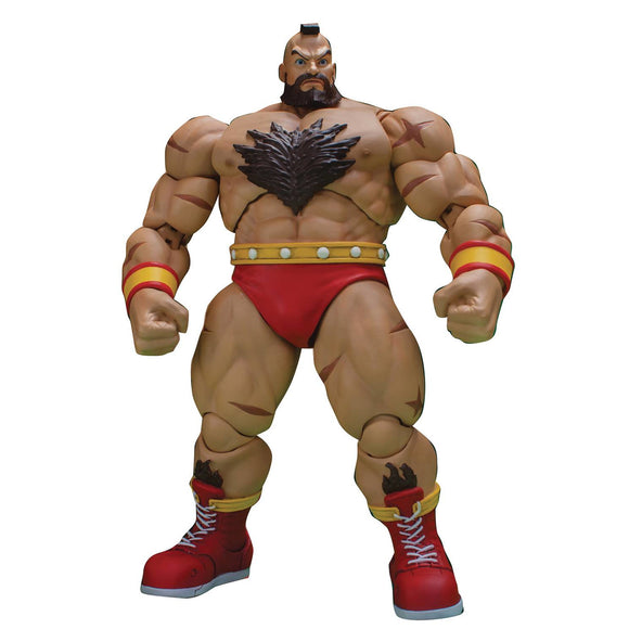 Street Fighter II - Zangief 1/12 Scale Figure