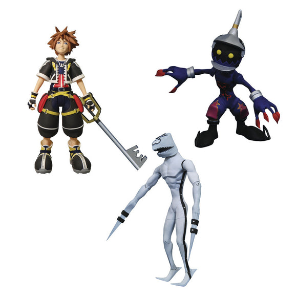 Kingdom Hearts Select - Sora w/ Dusk & Soldier