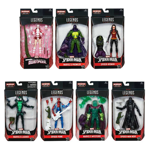 Spider-Man Marvel Legends - 2018 Wave 1