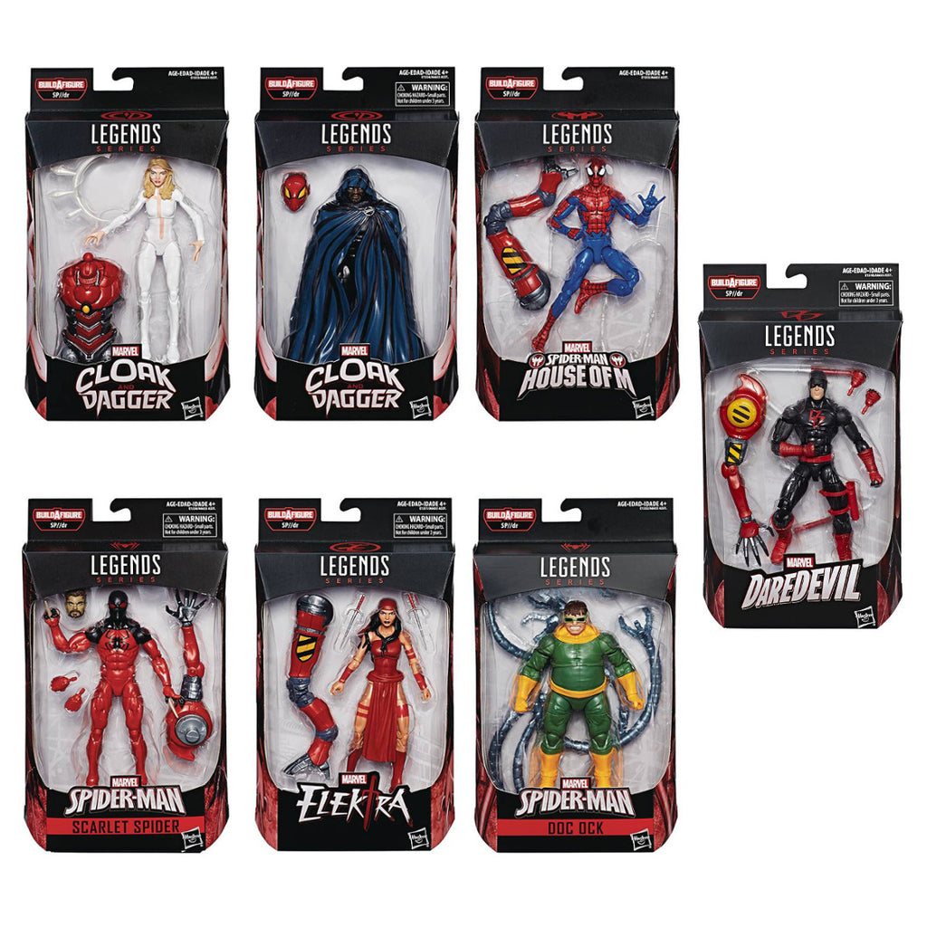 Spider-Man Marvel Legends - 2018 Wave 2