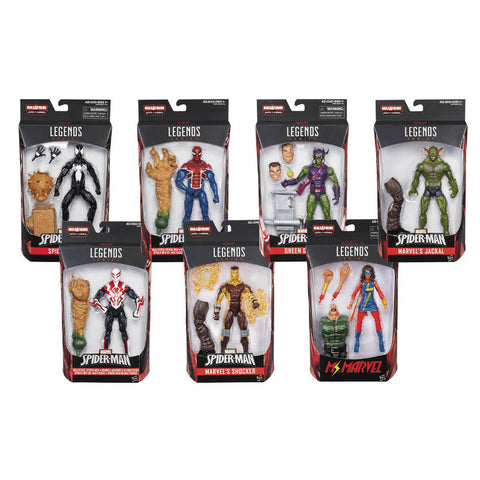 Spider-Man Marvel Legends Wave 7 - Set of 7