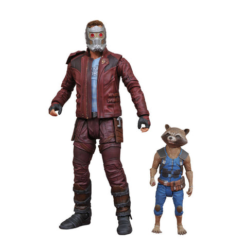 Marvel Select - Starlord & Rocket Raccoon