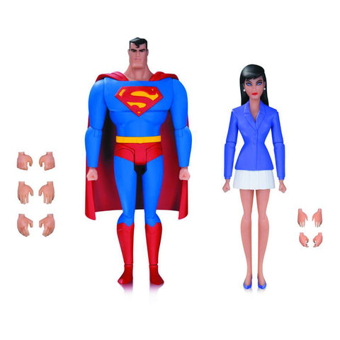 Superman Animated - Superman & Lois Lane