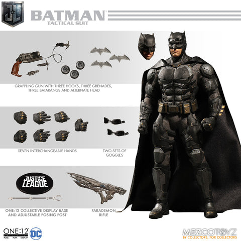 DC One:12 - Tactical Suit Batman