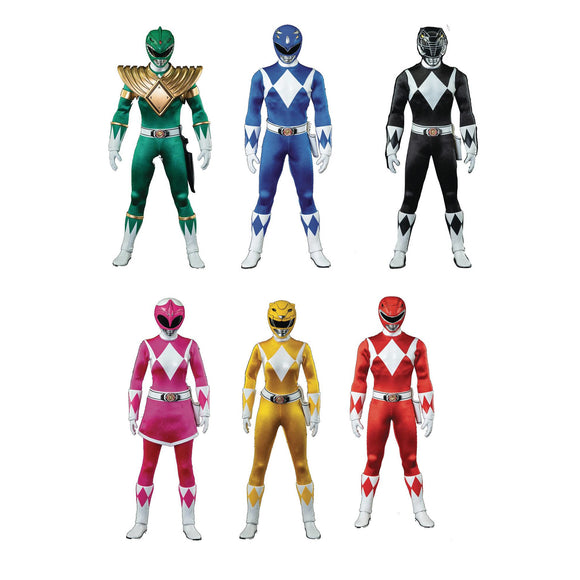 Mighty Morphin Power Rangers - 1/6 Scale Figure 6-Pack Set