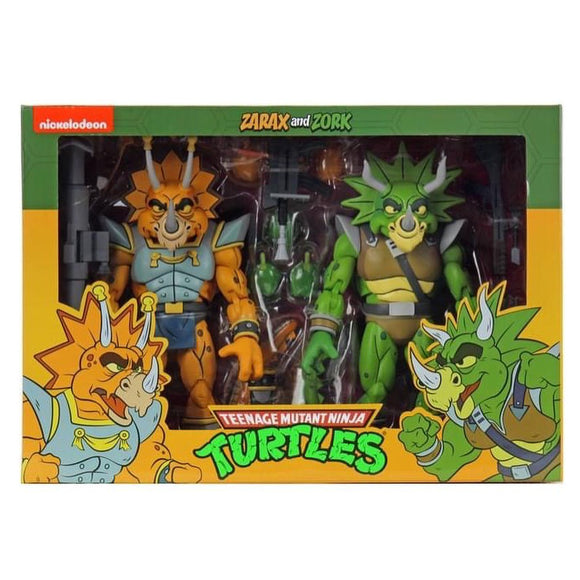 TMNT Cartoon 2-Pack - Zarax & Zork