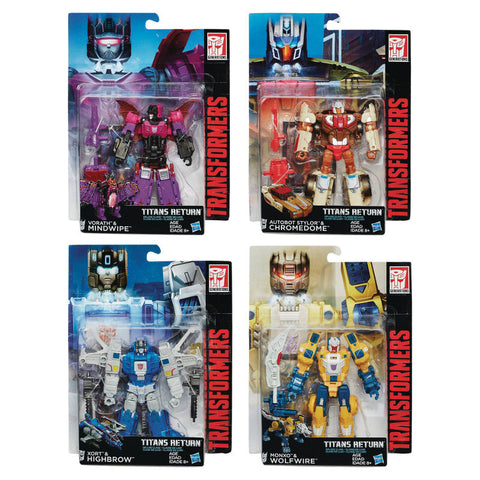 Titans Return Deluxe Class - Wave 2