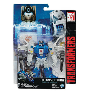 Titans Return Deluxe Class - Highbrow