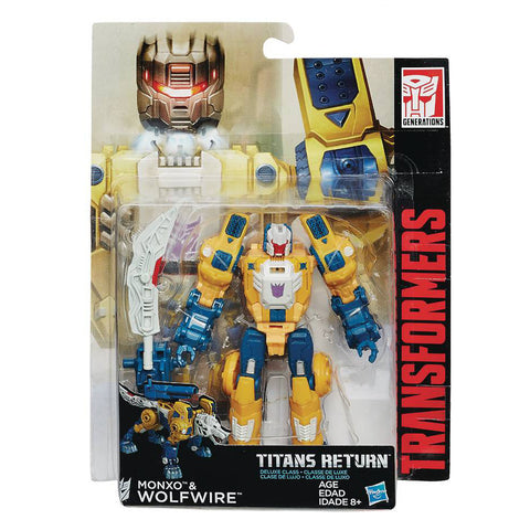 Titans Return Deluxe Class - Wolfwire