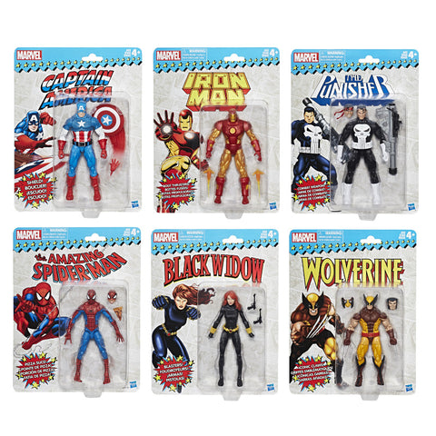 Marvel Legends Vintage Wave 1 - Set of 6