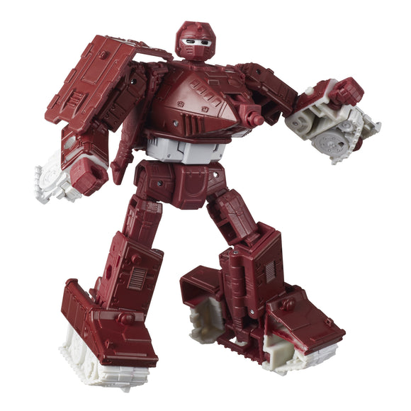 Transformers Kingdom - Deluxe Class Warpath