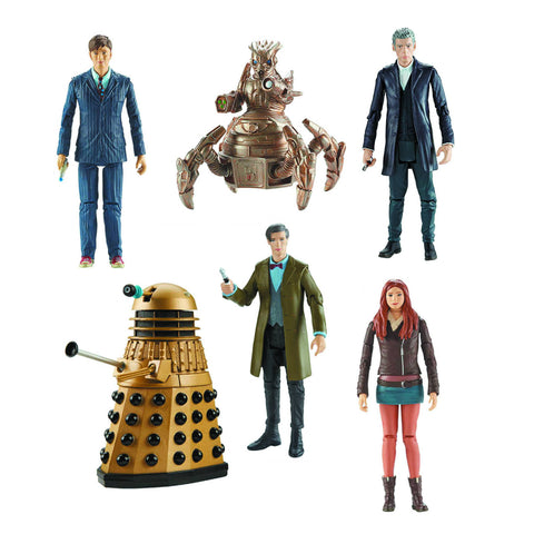 Dr. Who - Set of 6