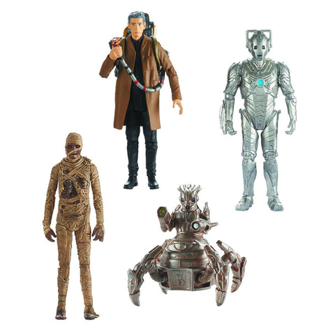 Dr. Who Wave 4 - Set of 4