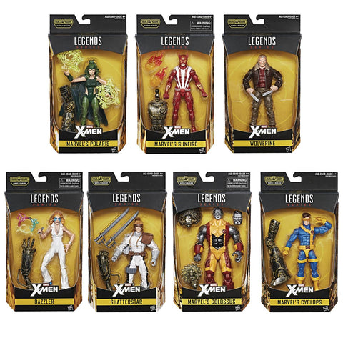 X-Men Marvel Legends Wave 2 - Set of 7