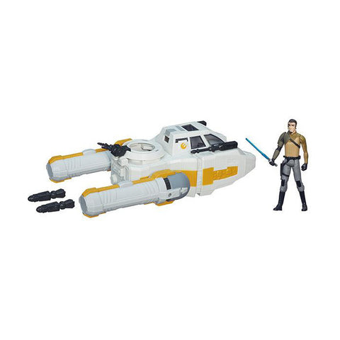 The Force Awakens - Deluxe Class I Vehicle - Y-Wing Scout Bomber