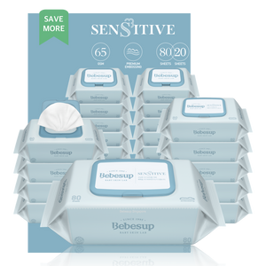 Bebesup Sensitive Baby Wipes, Mix Bundle