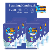 [Refill] ICAN Foaming Hand Wash, 200ml x 6 (Powder)