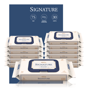 Bebesup Signature Baby Wipes, 30s x 12 Packs