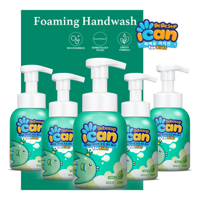 ICAN Foaming Hand Wash, 250ml x 5 (Melon)