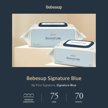 Bebesup Signature Blue Baby Wipes, 70s x 20 Packs
