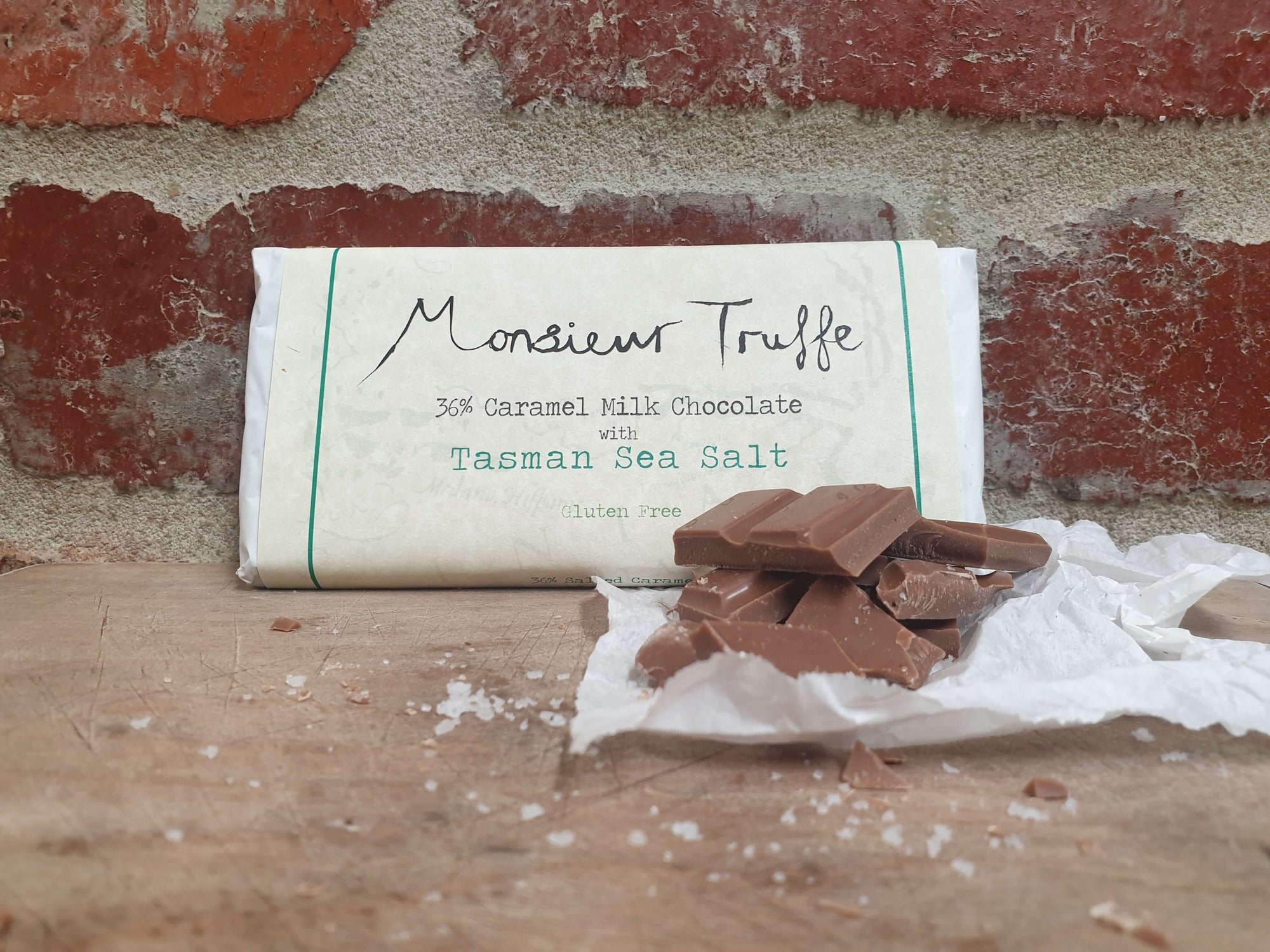 Monsieur Truffe 36% Milk Caramel with Tasman Sea-Salt