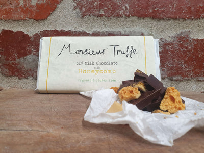 Organic Monsieur Truffe - 51% Milk with Homemade Honeycomb